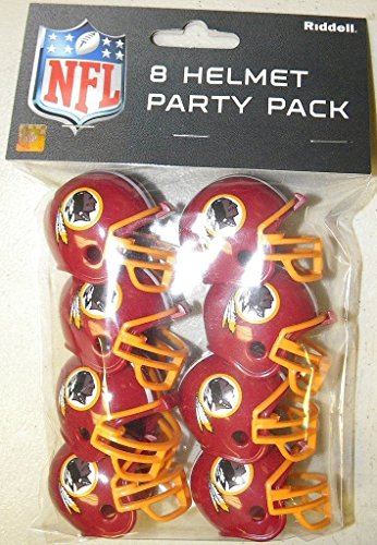 (Riddell 9585533032 Washington Redskins Team Helmet Party)