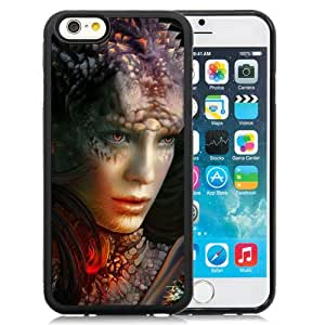 Beautiful And Unique Designed With Girl Sight Dragon Monster For iPhone 6 4.7 Inch TPU Phone Case