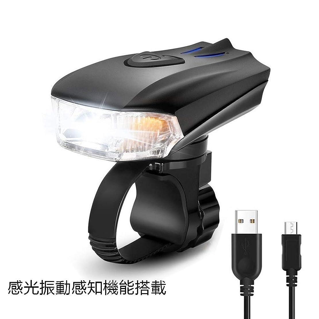 研究フクロウ配当ThorFire LED 自転車 テールライト セーフティーライト リアライト 3色 7点灯モード 高輝度 120ルーメン 200Mまで視認性 180°照射USB充電式 500mAh IPX4防水 ゴムバンド式 取付/取外簡単 耐衝撃
