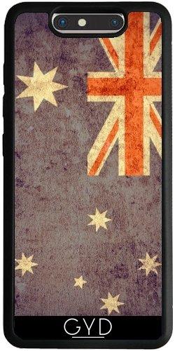 Funda Silicona para ZTE Blade V8 - La Bandera Del Grunge Australia by Warp9