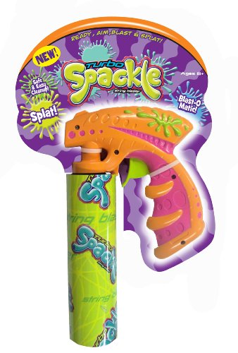 Big Time Toys Turbo Spackle String Blaster (1 Handle, 1-10-Ounce Can of Turbo (1 Ounce Cans)