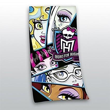 Monster High Paño de Terciopelo de toalla de Baño Toalla Sauna Cool 70x140cm NUEVO WOW -