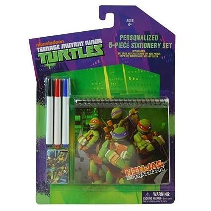 Amazon.com: Teenage Mutant Ninja Turtles 5 pieza papelería ...