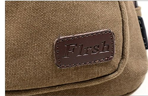 Casual Bag new Military Sports Small Leisure Satchel Khaki Travel Szsyr Chest Shoulder Pockets Men Pack Messenger Outdoor Hiking Backpack Canvas Multifunctional BH1wOw