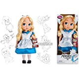 Disney Animators' Collection Doll - ALICE IN WONDERLAND ANIMATOR DOLL - 16'' - New