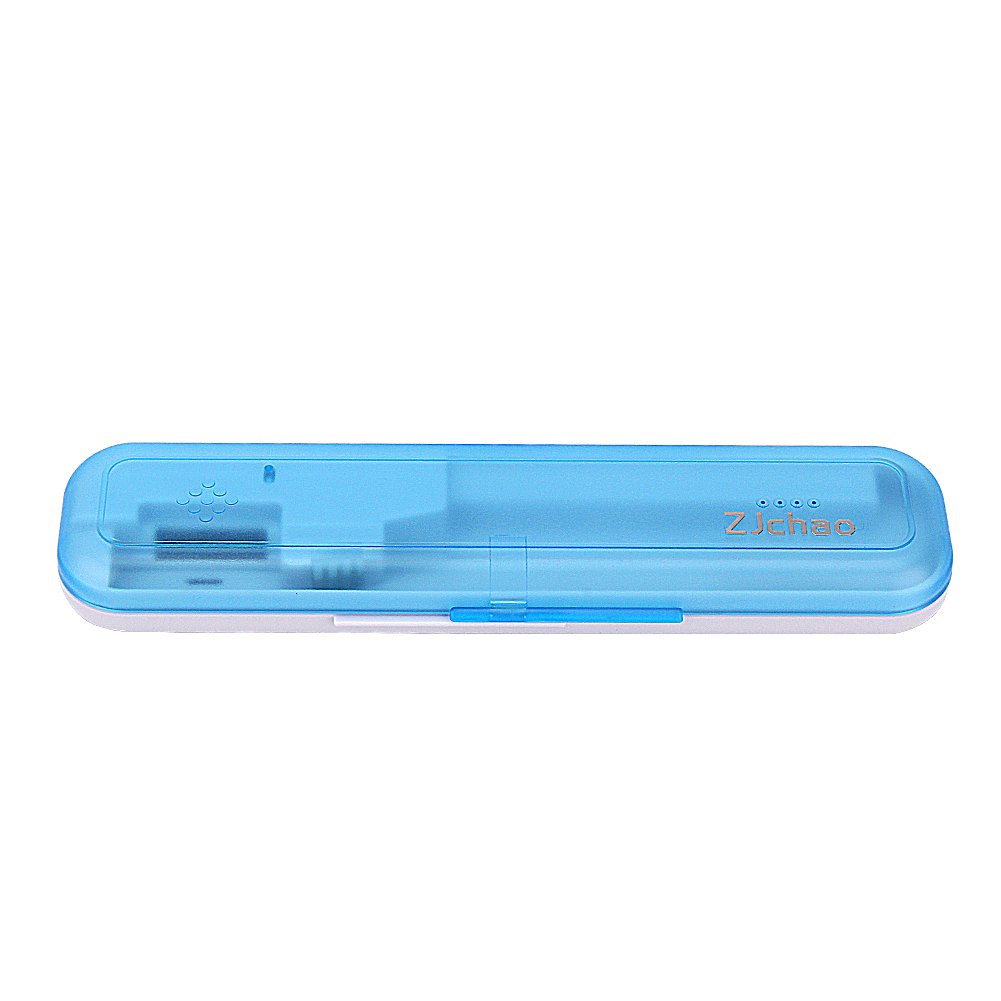 Yosoo Portable Personal Travel Toothbrush Sterilizer Ultraviolet Toothbrush Box Portable Travel Toothbrush Disinfection Frame Toothbrush Cleaner