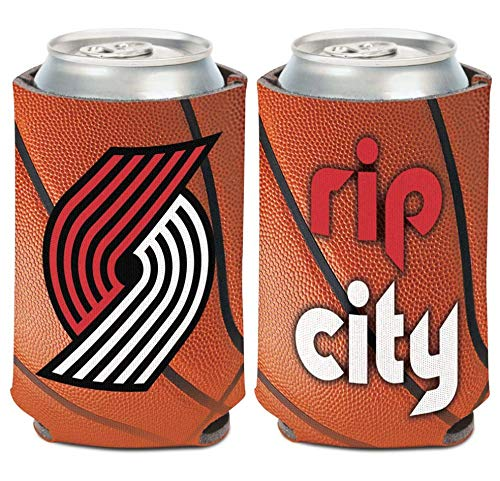 Wincraft NBA Portland Trail Blazers 12 oz. 2-Sided Design Can Cooler