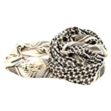 Wingbind 100% Cotton Shemagh Tactical Desert Scarf Wrap, Military Thickened Keffiyeh Arab Tessel Scarf Wrap for Women and Men