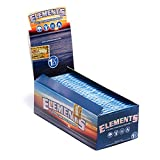 Elements Rice Rolling Papers 1 1/2'' (3 Boxes - 25 Units per Box) - MJ-157