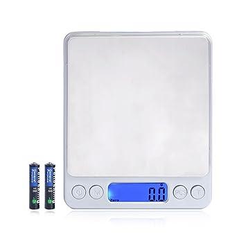 Digital bolsillo báscula de cocina digital, báscula de cocina multifunción alimentos escala, Ultra Slim