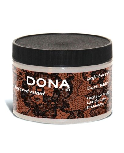 Dona Milk Bath - System Jo International DONA by JO Bath Milk 8 oz - Goji Berry (package of 7)