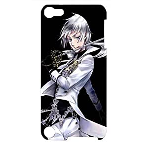 Ipod Touch 5th Generation Case Elegant Character Black Bulter 3D Specialized Phone Cover