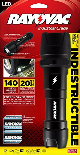 Rayovac Virtually Indestructible Flashlight Batteries