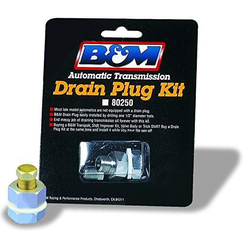 (B&M 80250 Automatic Transmission Universal Drain Plug Kit)