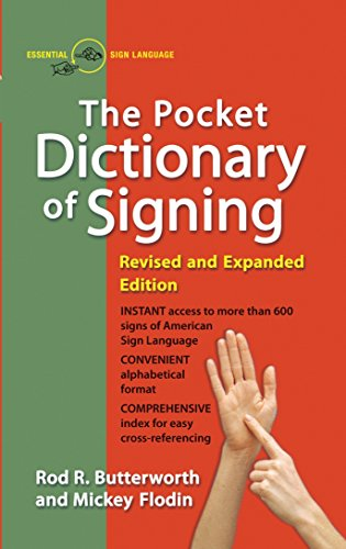 The Pocket Dictionary Of Signing -