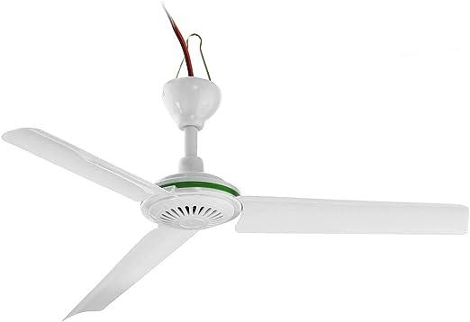 Jasmin FS Solar Techo de alimentación de Ventilador portátil DC ...
