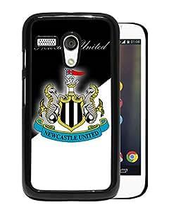 Unique Custom Designed Cover Case For Motorola Moto G With New Castle United Black Phone Case 12