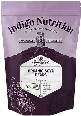 Indigo Herbs Habas de Soja orgánicas 1kg: Amazon.es ...