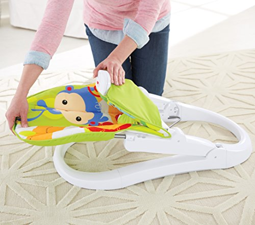 Fisher Price Rainforest Friends Fun n Fold Bouncer