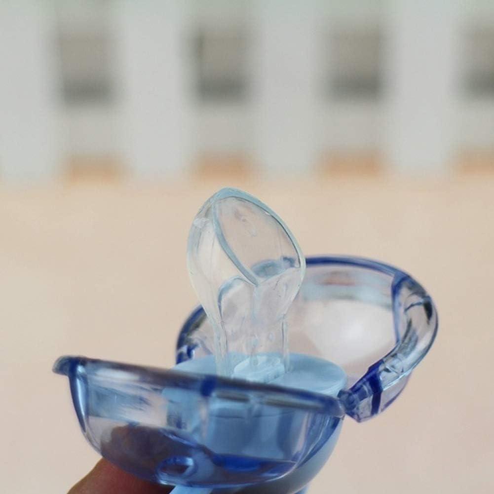 Alivier Chupete de beb/é pez/ón anti-polvo silicona cierre auto cerrar BPA libre
