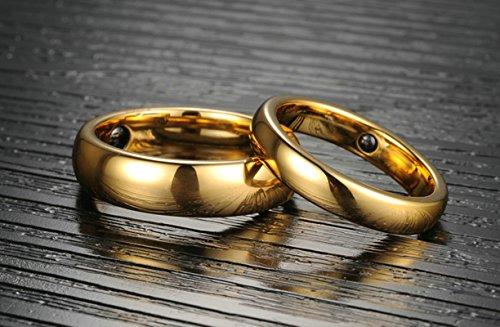 Verlobung Band Oberflache Herren Verlobungsringe Glatt Klassisch