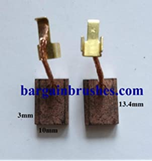 CARBON BRUSHES FOR POWERBASE ROTARY HAMMER DRILL PB850RHD PB 850 RHD Pair  E114