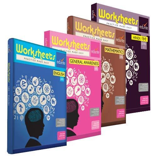 Buy Edurite Combo Worksheets (Bundle) for UKG ( KG 2 ) and ...