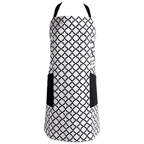 DII Cotton Adjusatble Women Kitchen Apron with Pockets and E