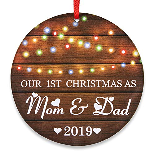 SICOHOME First Christmas As Mom & Dad 2019,3