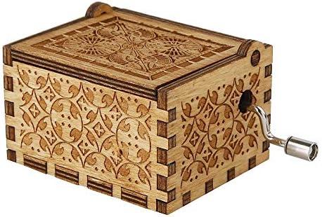 Sotoboo - Caja de música, diseño de Cerezo navideño, Madera ...