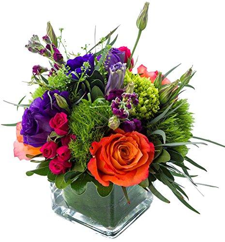 Starbright Floral Design- ''Joy''- Hand Delivered Bouquet in Vase- New York City Area by Starbright Floral Design