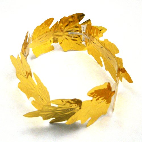 Roman Gold Laurel Leaf Wreath