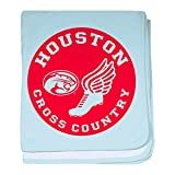 CafePress Houston Cross Country - Baby Blanket, Super Soft Newborn Swaddle