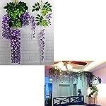 RUNFON-12pcslot-Artificial-105CM-Wisteria-Silk-Flower-Wedding-Decorations-Home-Garden-Party-Holiday-Decor