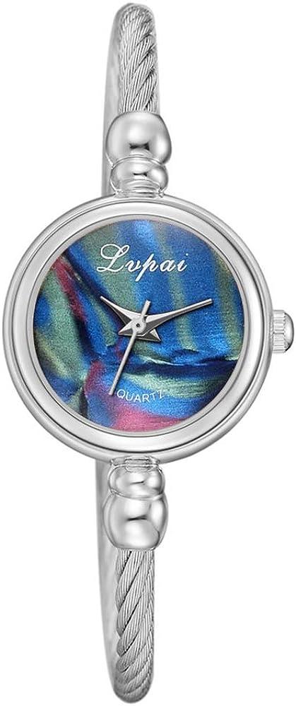 2020 Nuevas Damas señoras Relojes de Ocio Tendencia Pulsera Reloj decoración Temperamento Simple Reloj de Cuarzo Relojes de señora al por Mayor
