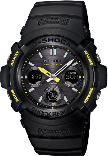 Casio G-SHOCK FIRE PACKAGE'14 Multiband 6 Solar - Tactical Men's Watch AWG-M100F-1BJR