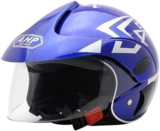 Harley Ideal para monopat/ín BMX y Patinete Stunt Medio Casco de Seguridad Duradero Casco el/éctrico para Moto winnerruby Casco para ni/ños Childs Multi-Sport Bicicleta