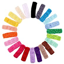 Changeshopping Crochet Headbands Assorted Variety Pack Babies Hair Band
