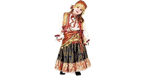 chiber Disfraces Disfraz de Niña Zíngara (Talla 8): Amazon.es ...