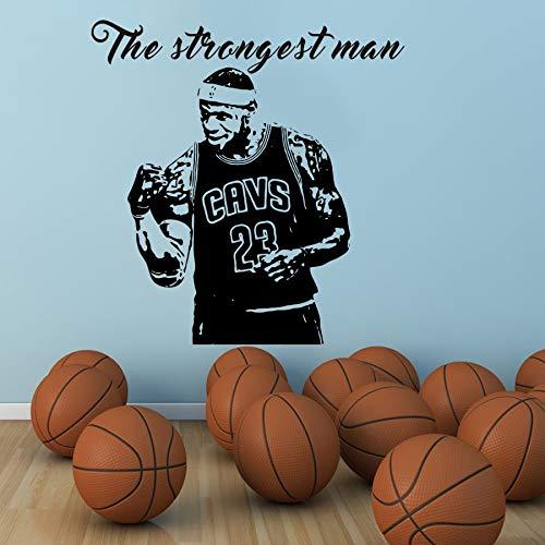 Hombre Fuerte MVP Lebron James NO23 CAVS Baloncesto Etiqueta de la ...