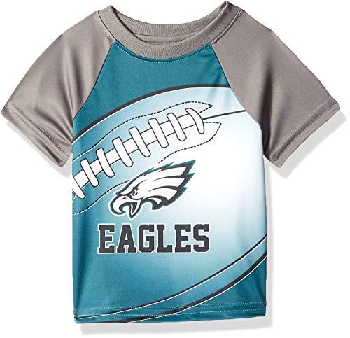 NFL Philadelphia Eagles Unisex-Baby Short-Sleeve Tee, Green, 12 Months ()