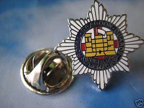 Royal Dragoon Guards Inniskilling Lapel Military Badge