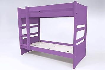 Etagenbett Abc : Amazon.de: abc meubles etagenbett duo beech duo90 flieder 90x190