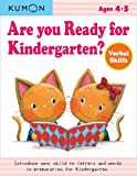 Are You Ready for Kindergarten? Verbal Skills, Kumon, 193496882X