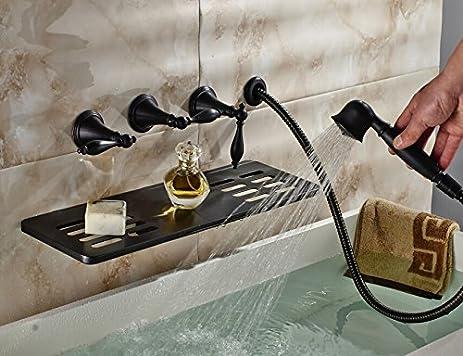 Oulantron Creative Design Wall Mount Bathtub Mixer Faucet Waterfall ...