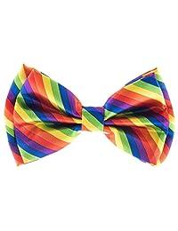 Man of Men - Men's Bowtie - Multi Color Rainbow Bow Tie