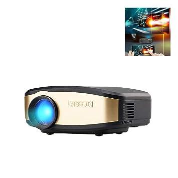 Amazon.com: Proyector de proyector WiFi C6 móvil inalámbrico ...