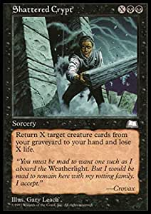 Weatherlight Mtg Shattered Crypt