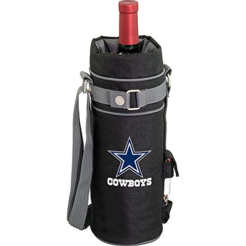 Cheap NFL Dallas Cowboys Insulated Single Bottle Wine Sack with Corkscrew