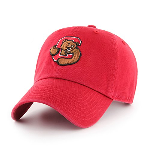 OTS NCAA Cornell Big Red Women's Challenger Clean Up Adjustable Hat, Red Cornell Vintage Apparel